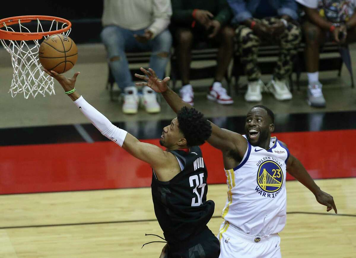 Christian Wood had a strong game in his return but it wasn't enough to get the Rockets back into the win column as their losing streak hit a franchise-record 18 games with a loss to the Warriors on Wednesday.