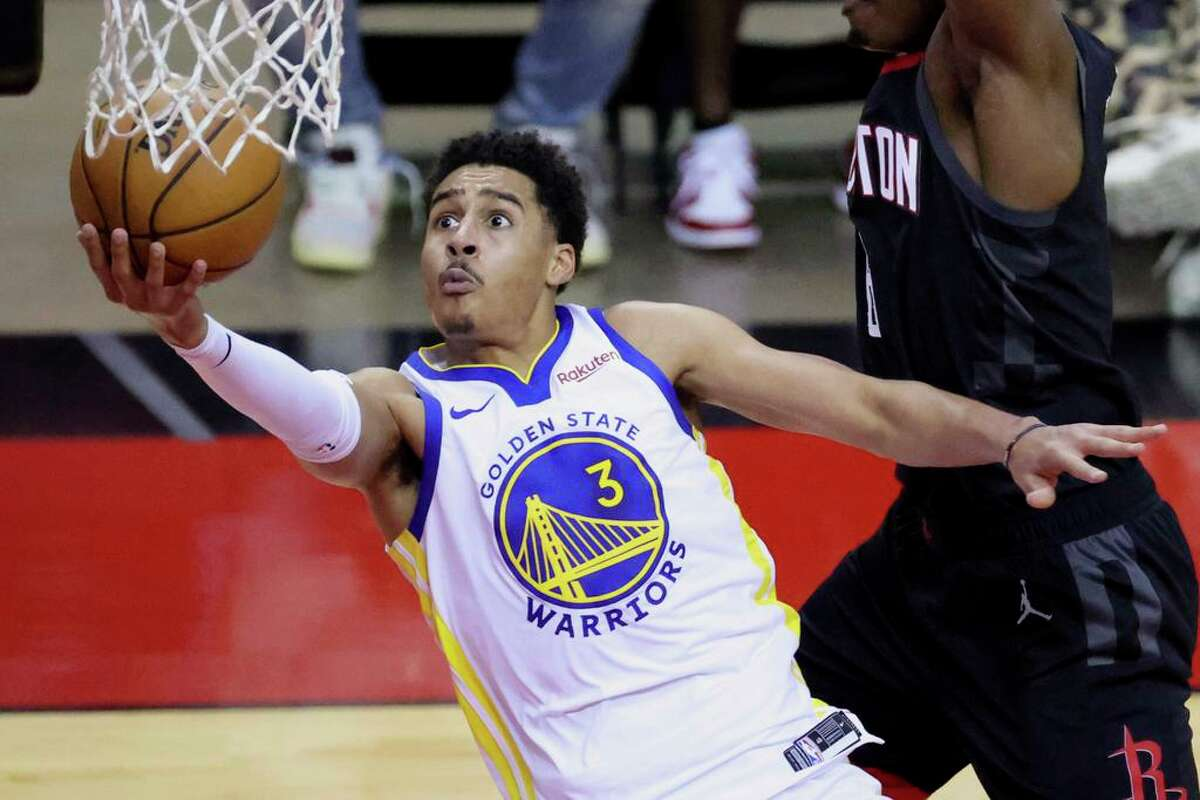 Jordan Poole looks to keep up his improved play when the Warriors host the 76ers at 7 p.m. Tuesday (NBCSBA, TNT/95.7).