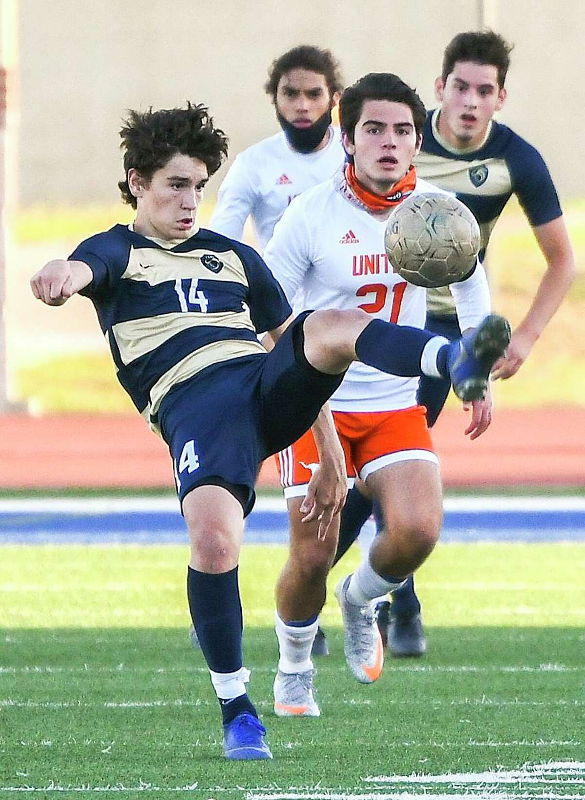 Eloy Cardenas and the Alexander Bulldogs defeated the United Longhorns 2-1 on Wednesday.