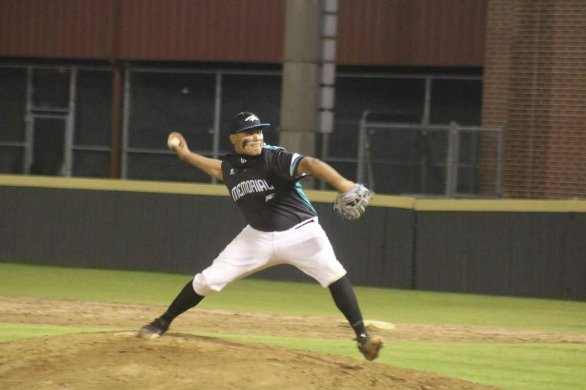 Memorial pitcher Eric Rodriguez struck out eight Deer Park batters but took the defeat Wednesday night.