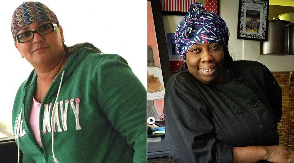Shahila Abbasi, left, and Kizzy Williams. (File photos.)