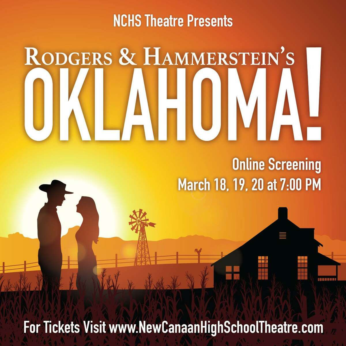 The New Canaan High School Theatre Department is presenting Rodgers & Hammerstein's musical