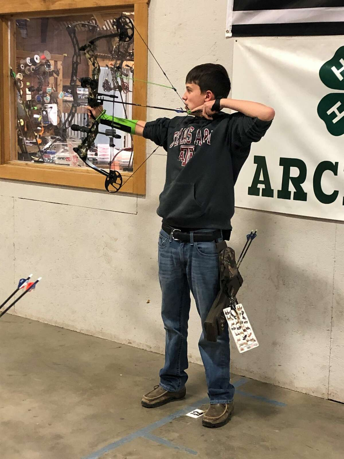 The Running Water Draw Shooting Sports Club archery group will be having a safety meeting and practice on April 5 from 5-7 p.m. at the Ollie Liner Center in Plainview