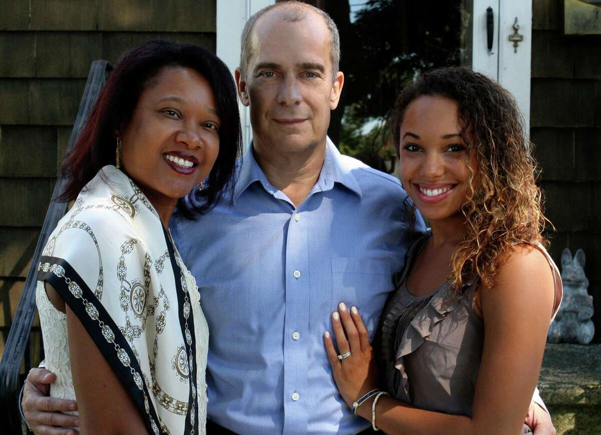 A file photo of Immacula Cann, left, who declared her intention to run for Stratford mayor Wednesday, with husband Greg Cann, who currently serves on the Stratford Town Council, and their daughter Cathy Cann.