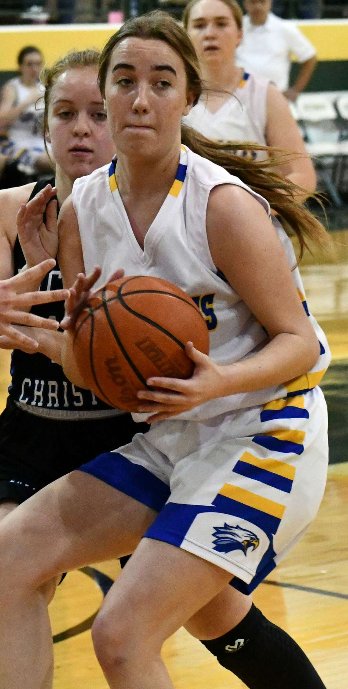 Plainview Christian Academy senior Soraya Davey earned first team TAPPS Class 1A All-State honors.