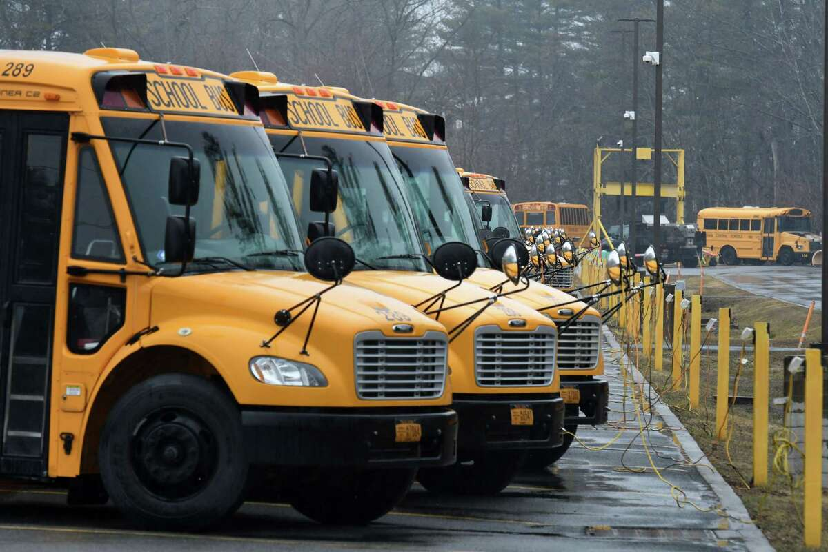 According to a statewide survey conducted by the New York Association for Pupil Transportation, 50,000 motorists illegally pass stopped school busses every day school is in session.