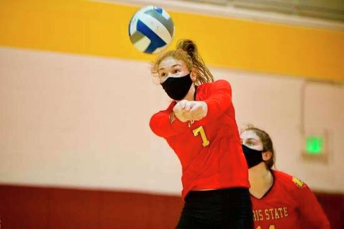 Katie O'Connell is in her senior season with Ferris State. (Photo courtesy/Ferris Athletics)
