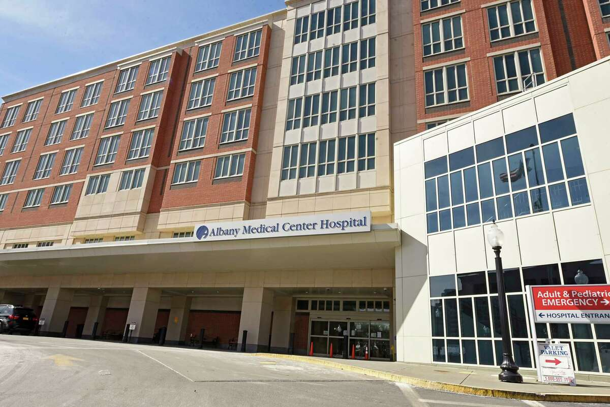 Exterior of Albany Medical Center on Friday, March 5, 2021 in Albany, N.Y. (Lori Van Buren/Times Union)