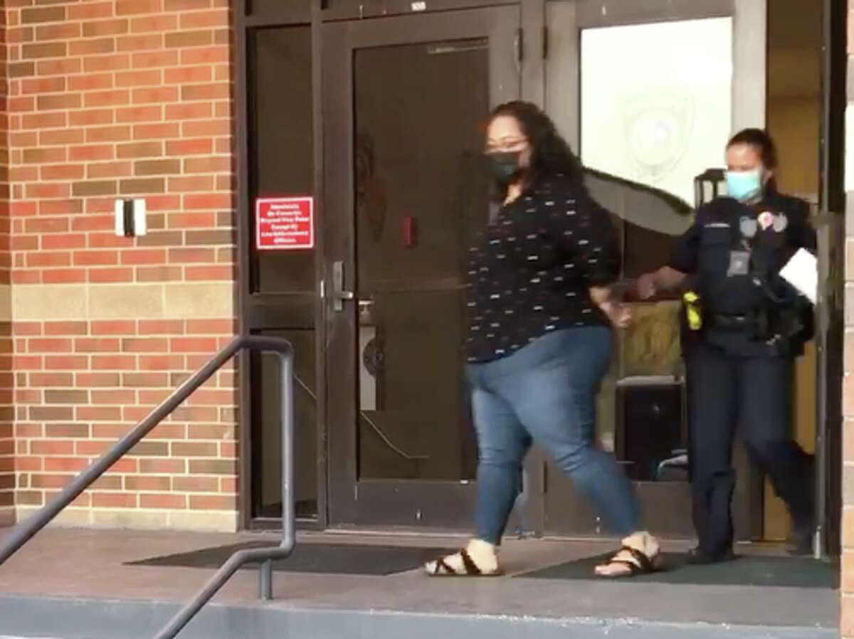 Maricela Leija was charged with prohibited substance in a correctional facility.