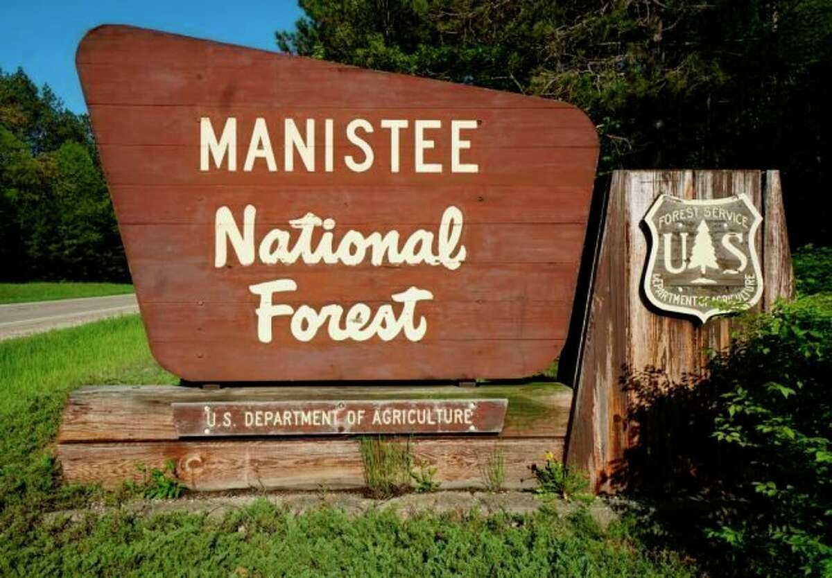 """The Manistee County Sheriff Brian Gutowski said an agreement between the sheriff's office and the U.S. Forest Service allows the Manistee County Sheriff's Office deputies """"to dedicate time to patrolling one of our greatest natural resources, the Manistee National Forest."""" (Courtesy photo)"""