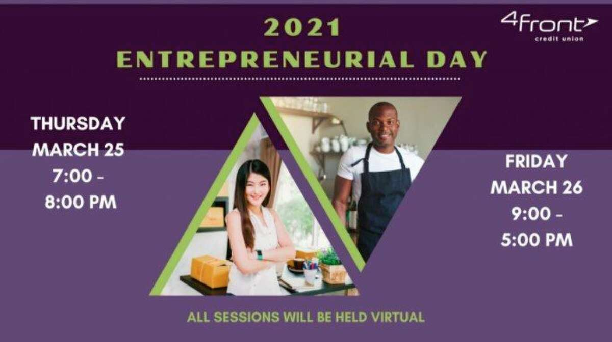 The Manistee Area Chamber of Commerce will host its first Entrepreneurial Day this year for residents interested in starting their own business. The event is sponsored by 4Front Credit Union. (Screenshot/Chamber website)