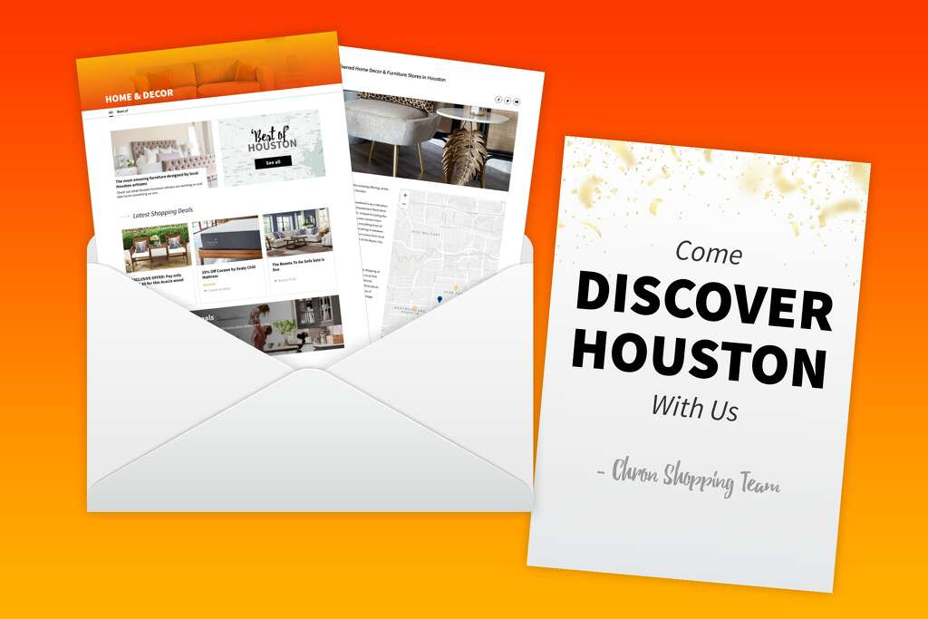 You've been officially invited, so what are you waiting for—check out home decor, the Chron Shopping way!
