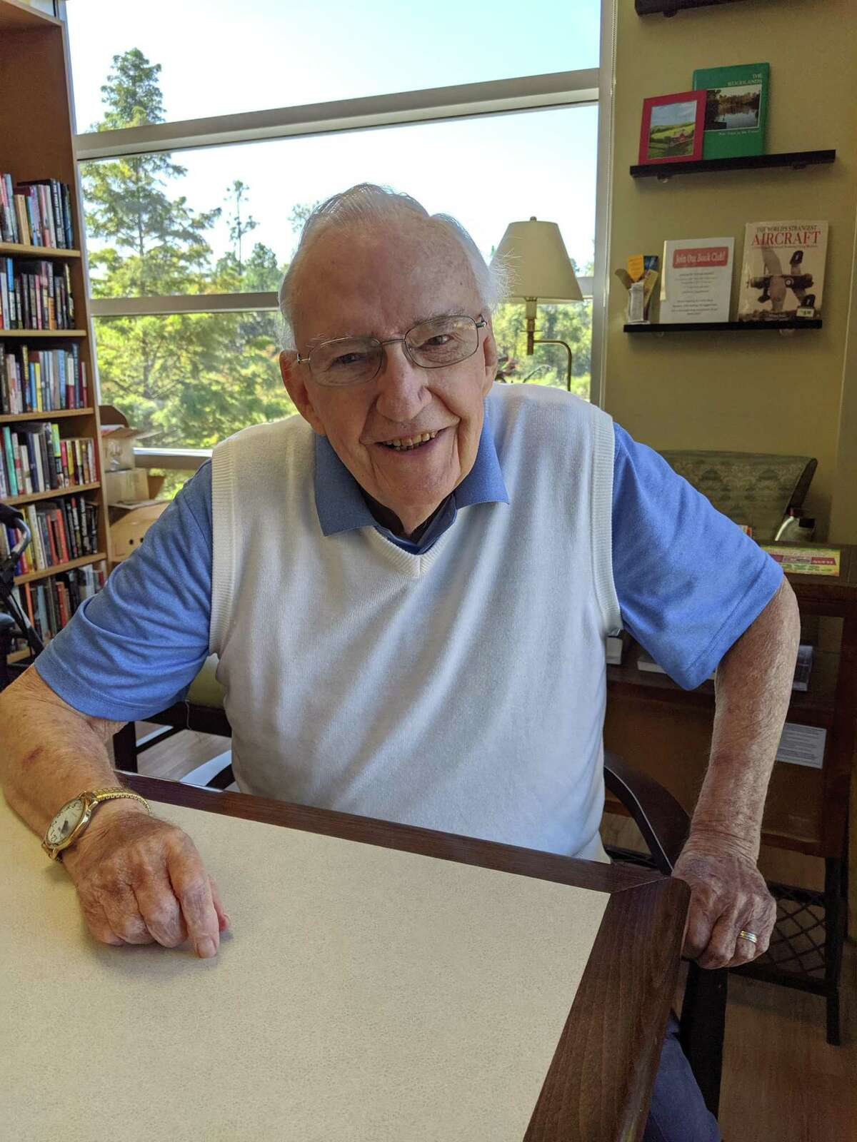 The Rev. Don Gebert finally retired in 2019. Gebert was instrumental in creating The Woodlands that currently exists. His family said he leaves behind a legacy of caring for the less fortunate.