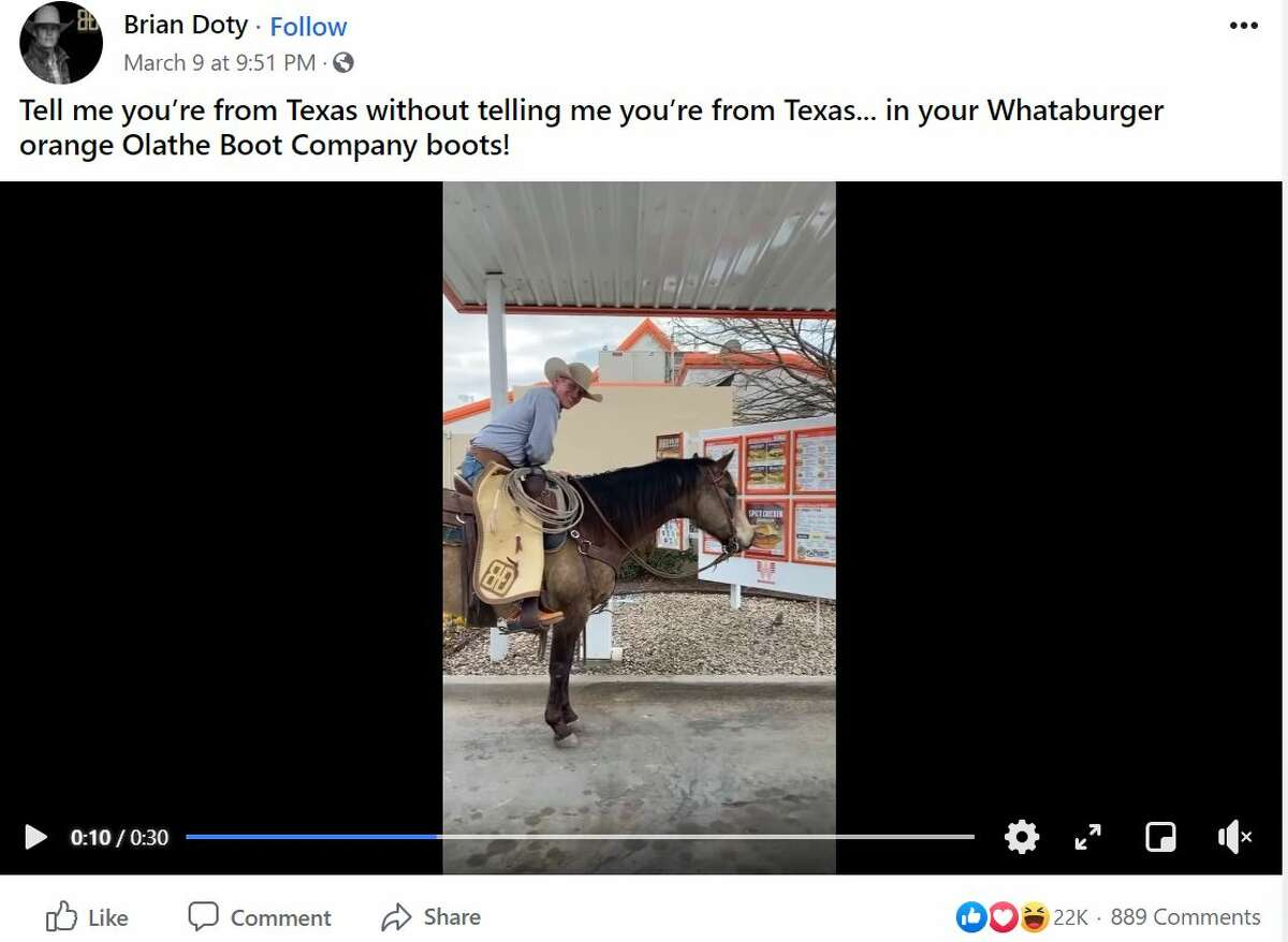 """Cowboy and """"This Is Country"""" television host Brian Doty showed he's from Texas without actually showing he's from Texas."""