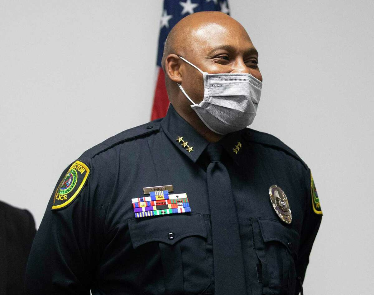 Houston Mayor Sylvester Turner announced he has picked Houston Police Department Executive Assistant Chief Troy Finner to replace Houston Police Chief Art Acevedo.