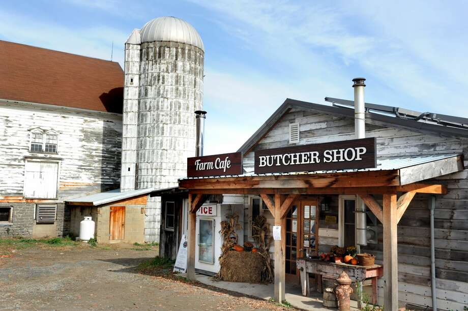 Cafe and butcher shop on Tuesday, Oct. 27, 2015, at Wm. H. Buckley Farms in Burnt Hills, N.Y. (Cindy Schultz / Times Union) Photo: Cindy Schultz/Albany Times Union