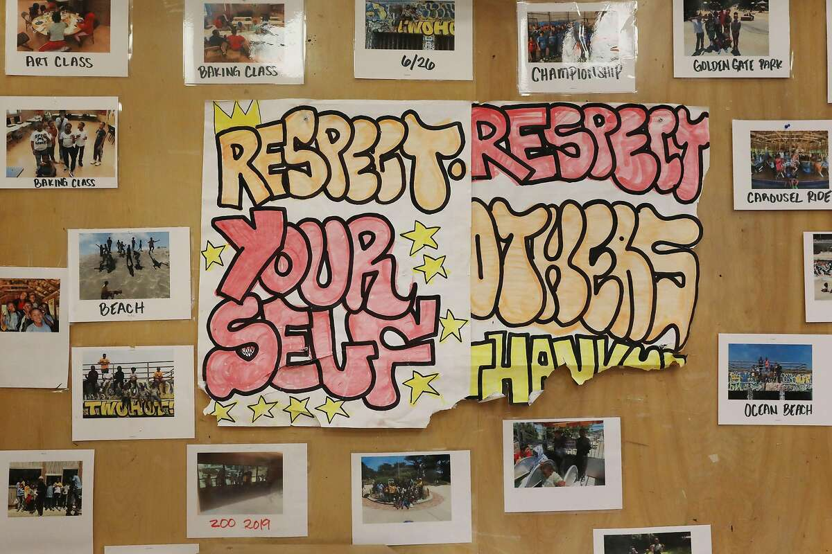 """""""Respect"""" is the message at the recreation center."""