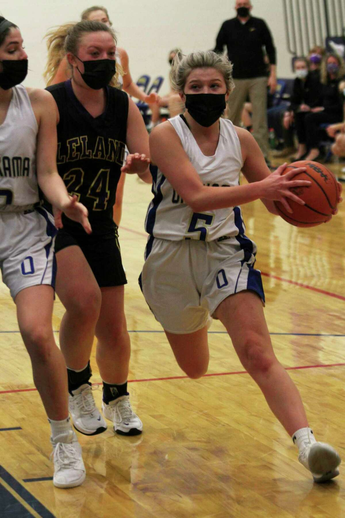 Onekama's boys and girls basketball teams each lost to Kingsley on Thursday night. (News Advocate file photo)