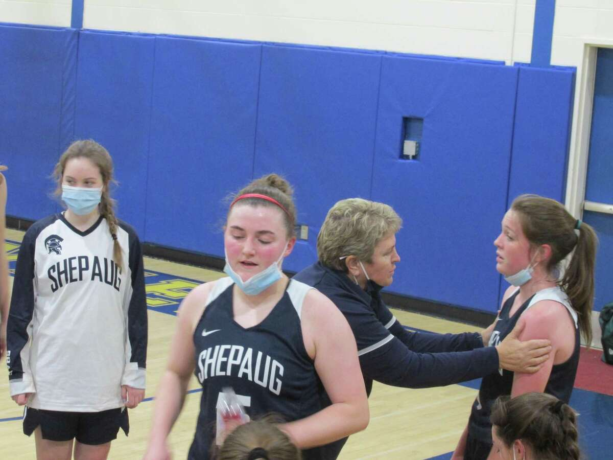 Shepaug star Brooke Donaghey did most of the damage in the Spartans' overtime comeback win at Housatonic Thursday night in a Berkshire League Tournament quarterfinal.