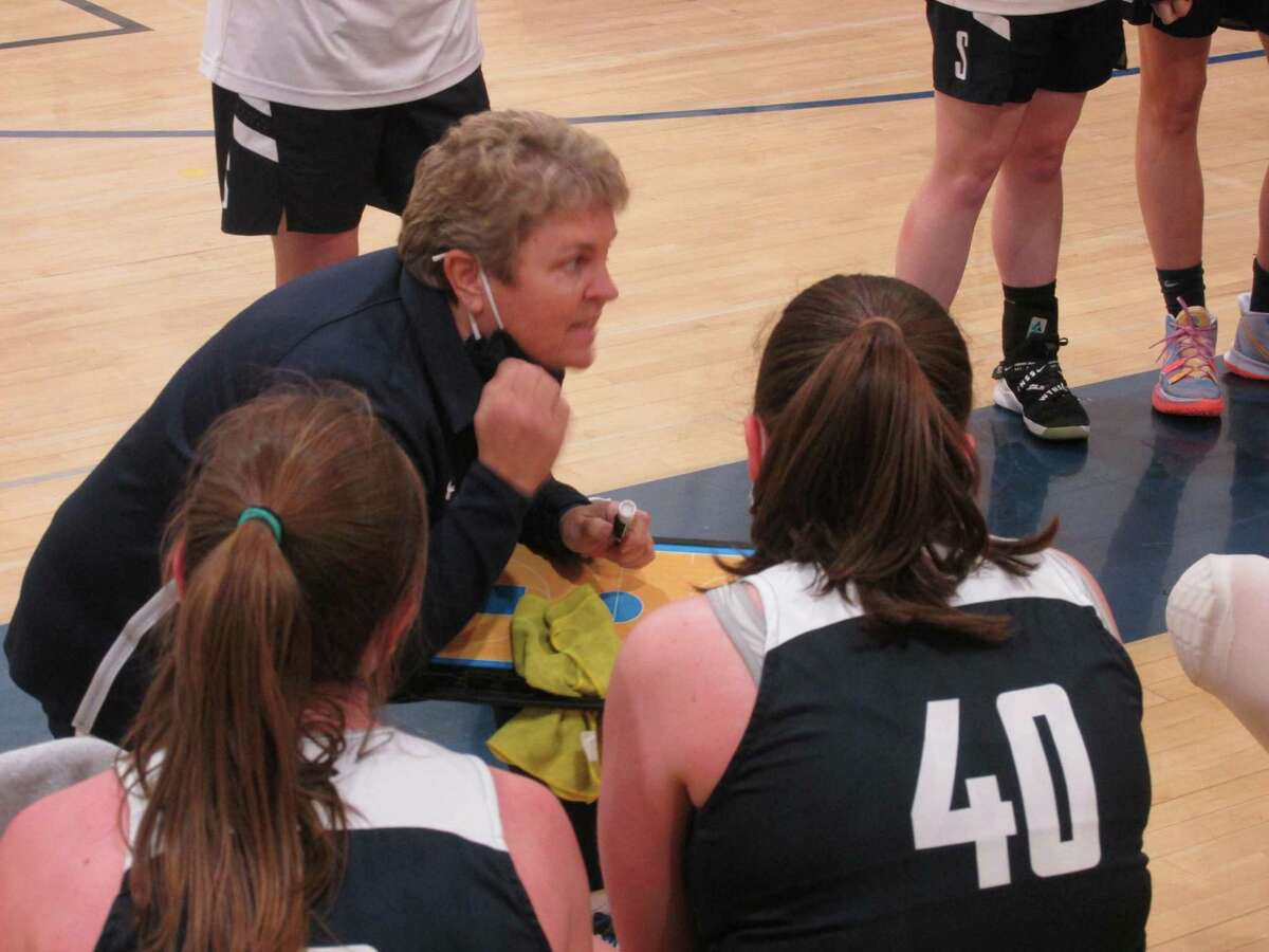 Shepaug coach Karen Puskas guided her team back from a 13-point deficit at Housatonic to an overtime Berkshire League Tournament quarterfinal win Thursday night.