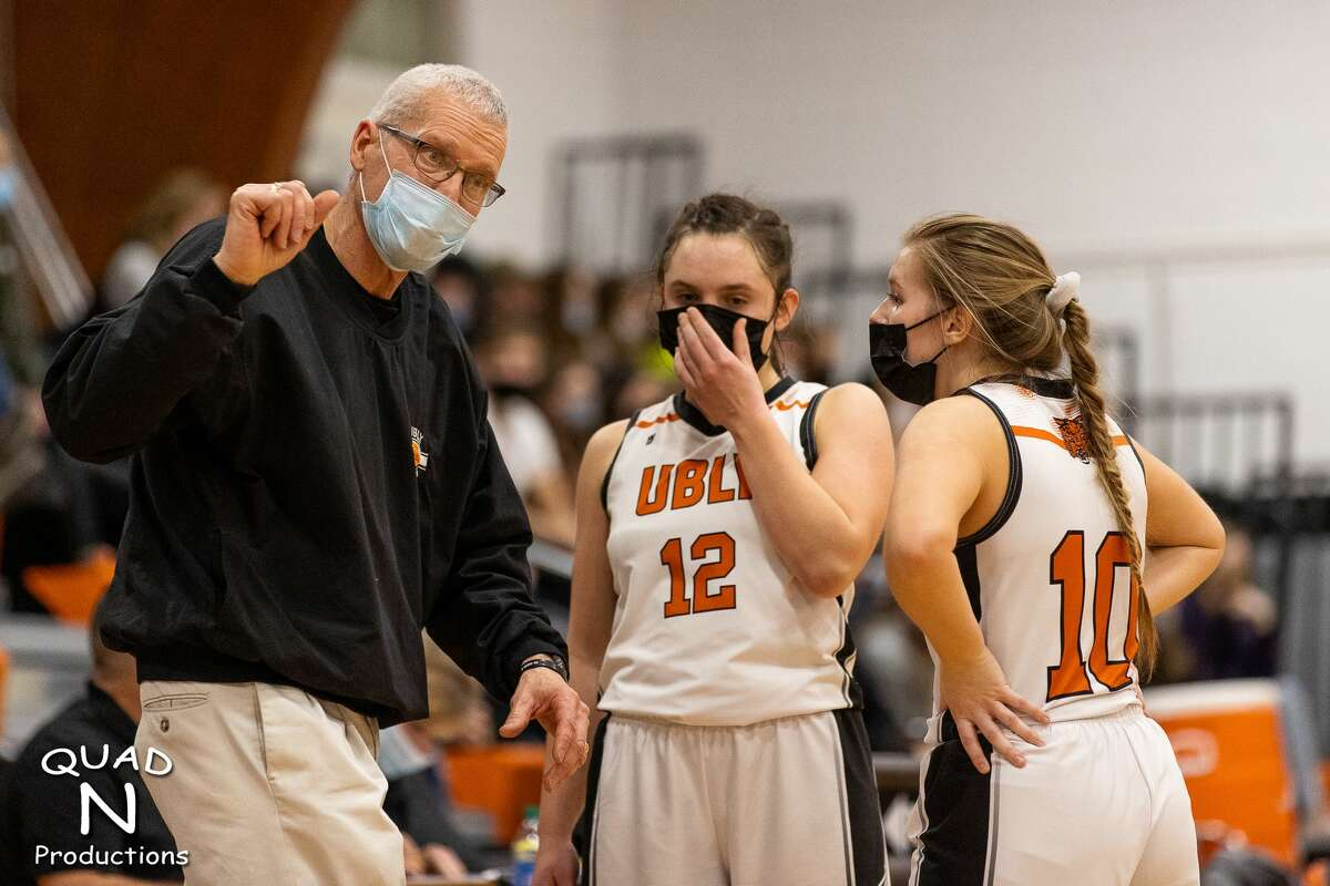 Ubly girls basketball team's hunt for a state championship ended with a loss to Saginaw Nouvel in the regional semifinals at Mount Pleasant Sacred Heart on Monday evening.Ubly head coach Joel Leipprandt is stepping down after two seasons as head coach as he eases into retirement.