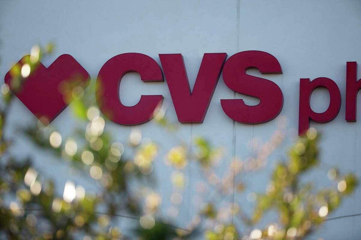 A CVS Pharmacy that offers leftover COVID-19 vaccines to people who walk in is photographed Thursday, March 18, 2021, at East End in Houston.