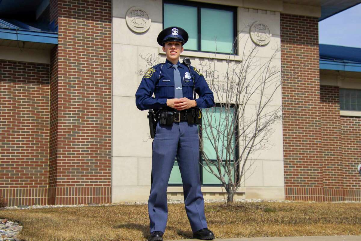 Laker Schools alumna Taryn Wessels graduated the 138th Michigan State Police Trooper Recruit School earlier this month and is now stationed at the MSP Tri-Cities Post. (Scott Nunn/Huron Daily Tribune)
