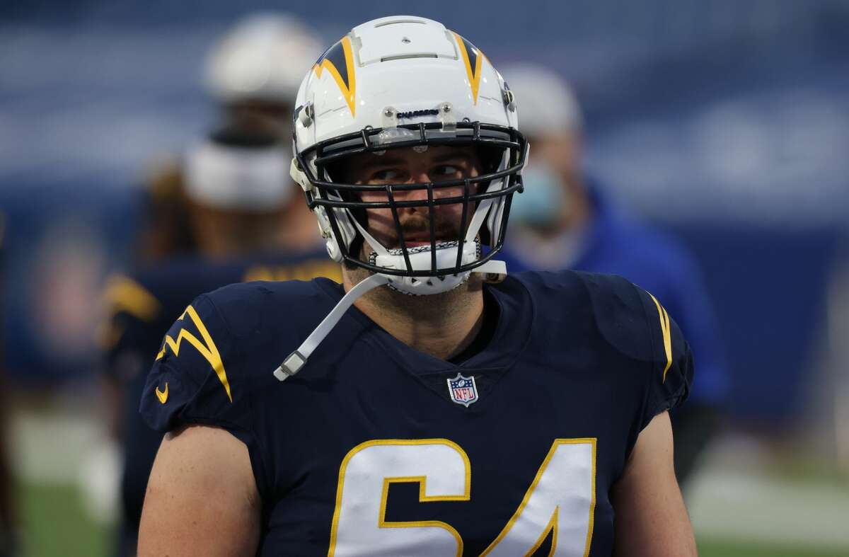 Cole Toner played for new Texans offensive line coach James Campen with the Chargers and now they reunite in Houston.