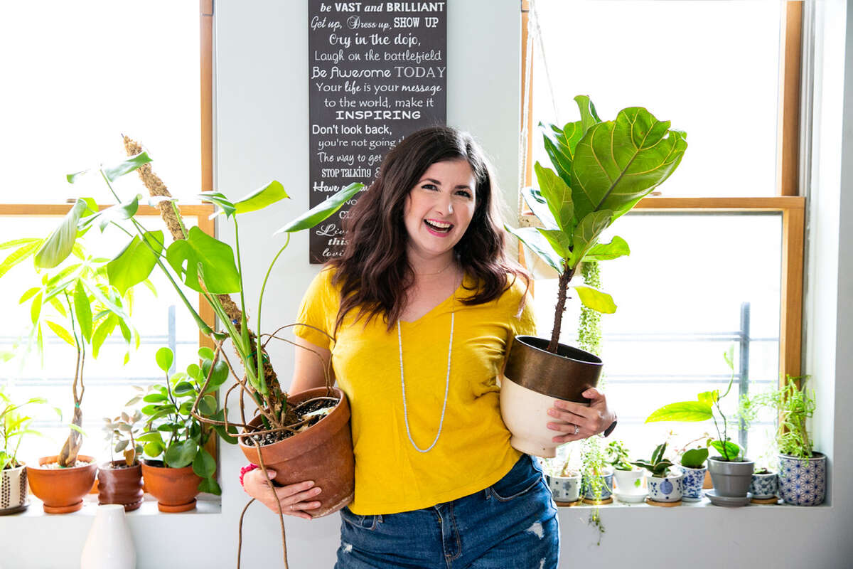 """Maria Faila's pandemic pivot is a podcast dedicated to houseplants called """"Bloom and Grow Radio."""" It may not turn into a full-time job (yet), but she is working on making it pay for her houseplant obsession."""