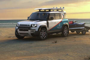 The new Defender, the latest in a string of rugged and versatile Land Rovers, can be readily customized for its mission.