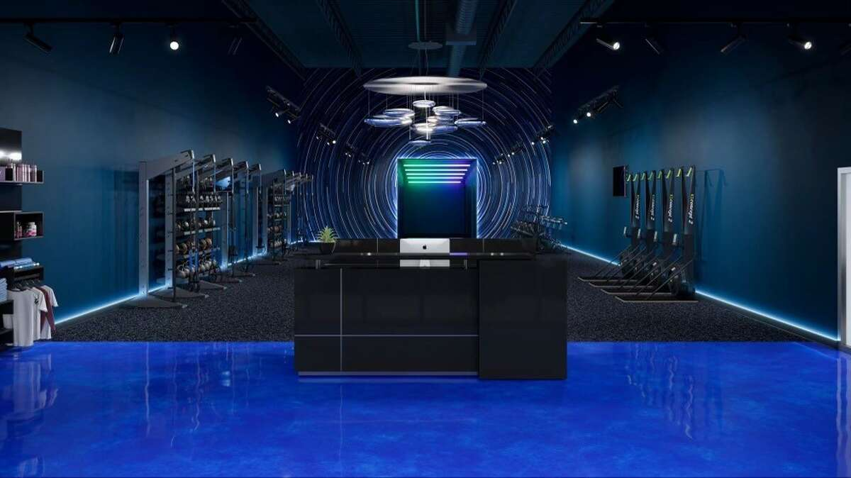 Aguilar provided a sneak peek at the Apple-inspired design and workout plans ahead of the March 26 grand opening. The business partners tapped design specialist Cuoco Black to develop a gym inspired by the signature sleekness of Apple devices.