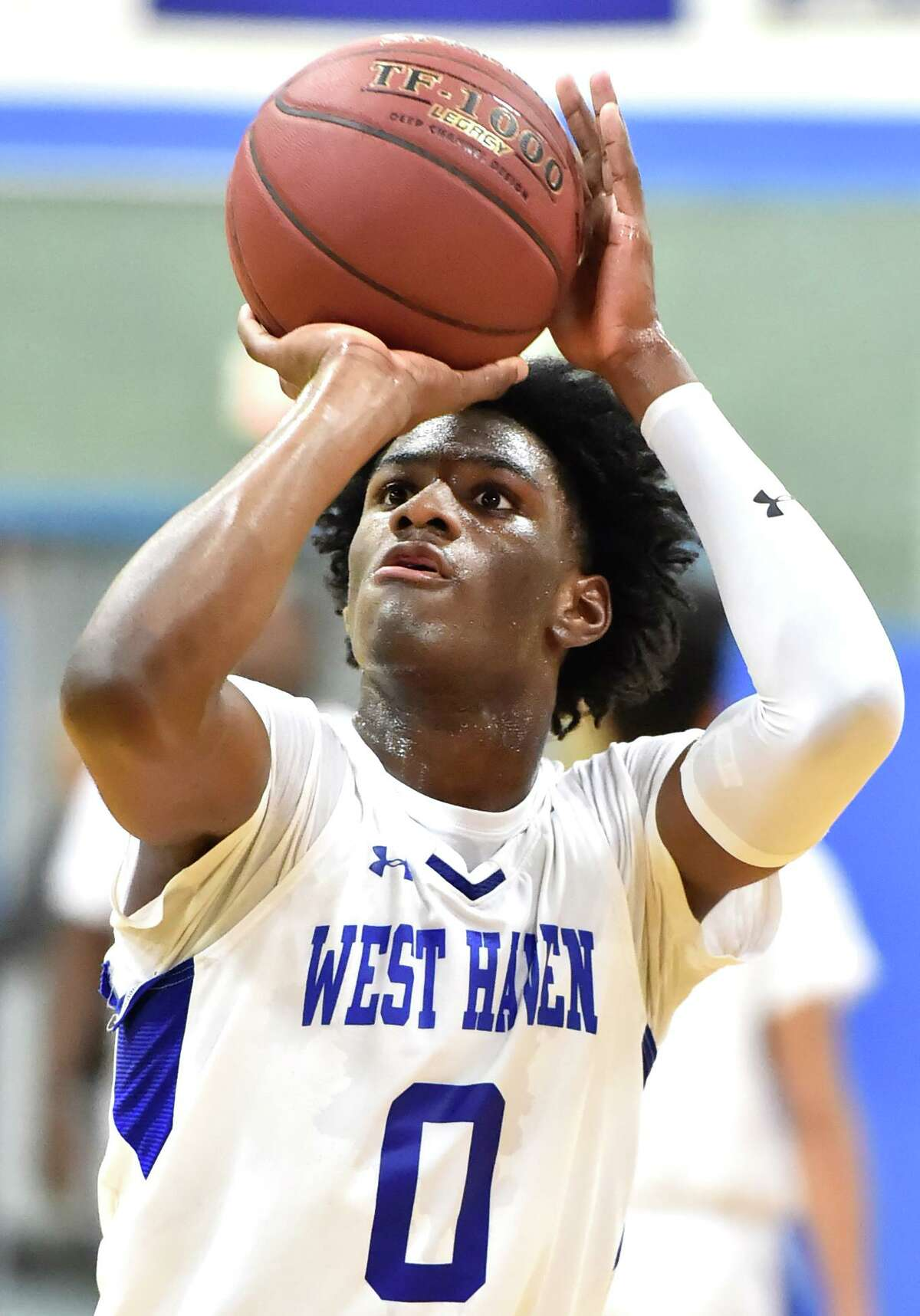 Malcolm Duncanson does a little bit of everything for West Haven, which is 9-1 heading into the SCC Division I tournament.