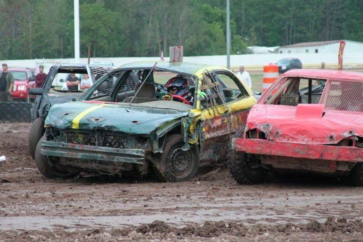 There are three TNT Demolition Derby events slated to take place at the Manistee County Fair in August. (File photo)