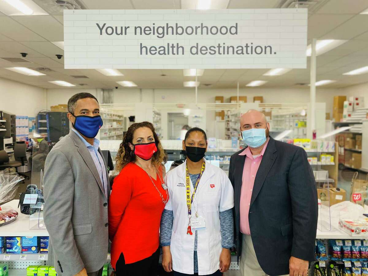 Partnership Lake Houston held a grand opening and ribbon cutting for the new Walgreens in Humble on March 10.