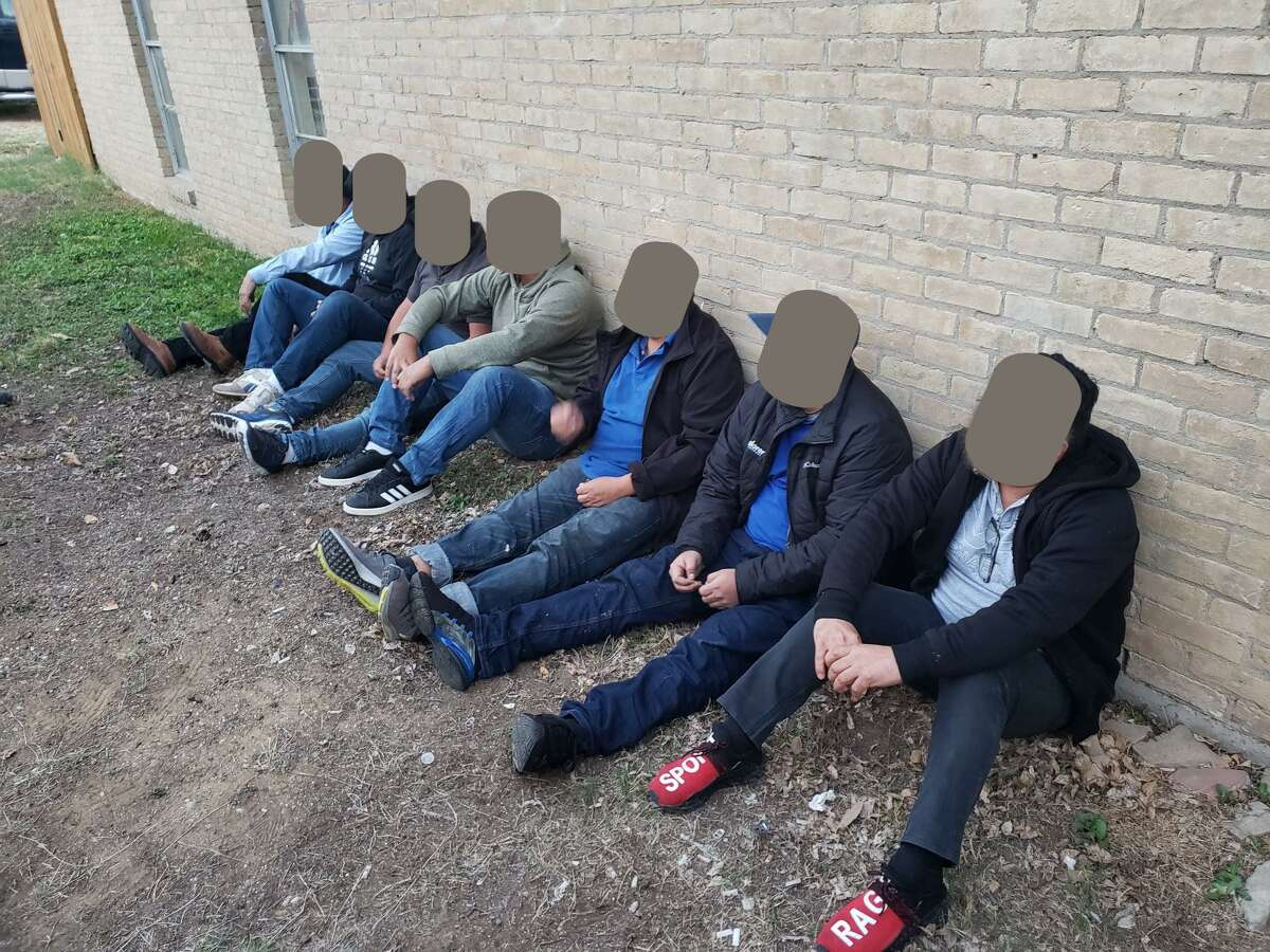 The U.S. Border Patrol and Laredo Police Department discovered these seven immigrants inside a stash house on Bartlett Avenue.