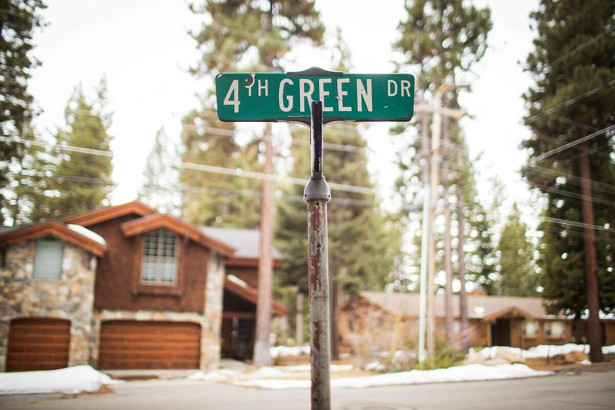 4th Green Drive in Incline Village, Nevada on March 17, 2021.