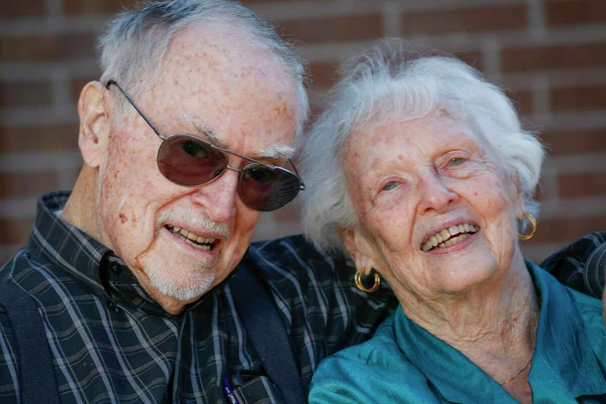 Paul Smith, 86, and his wife, Virginia, 90, will soon be able to reclaim some of the comforts and freedom of retirement they were accustomed to after being vaccinated Friday, March 19, 2021, in Houston.