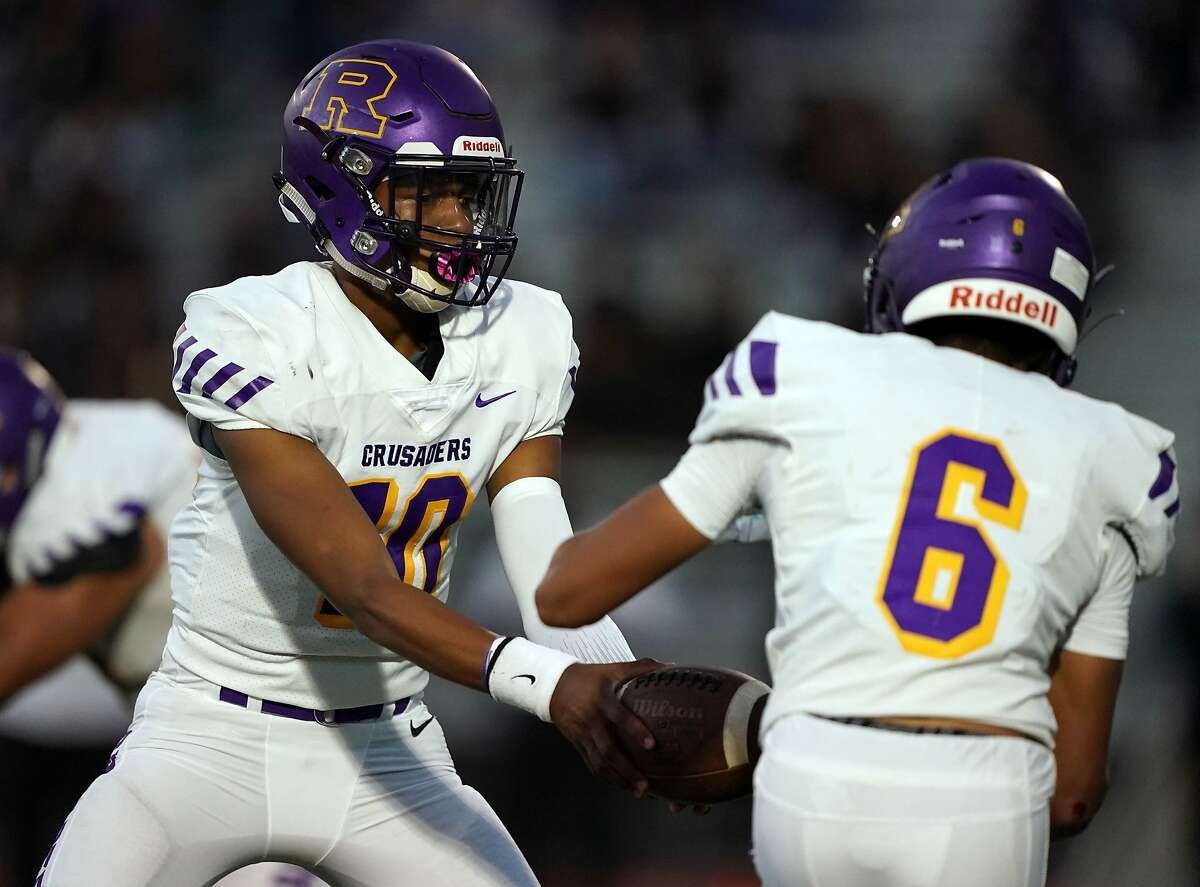 Senior QB Azaaan Ledbetter is among Riordan's key returners this season. The Crusaders host Sacred Heart Cathedral on Saturday after a 16-month layoff.