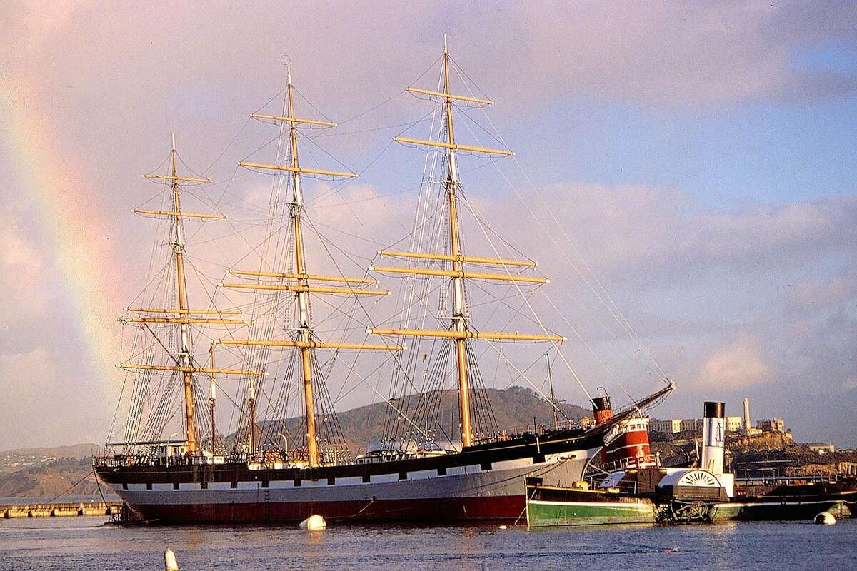 The Balclutha, formerly the Star of Alaska, carried laborers to Alaska and canned salmon back to S.F.