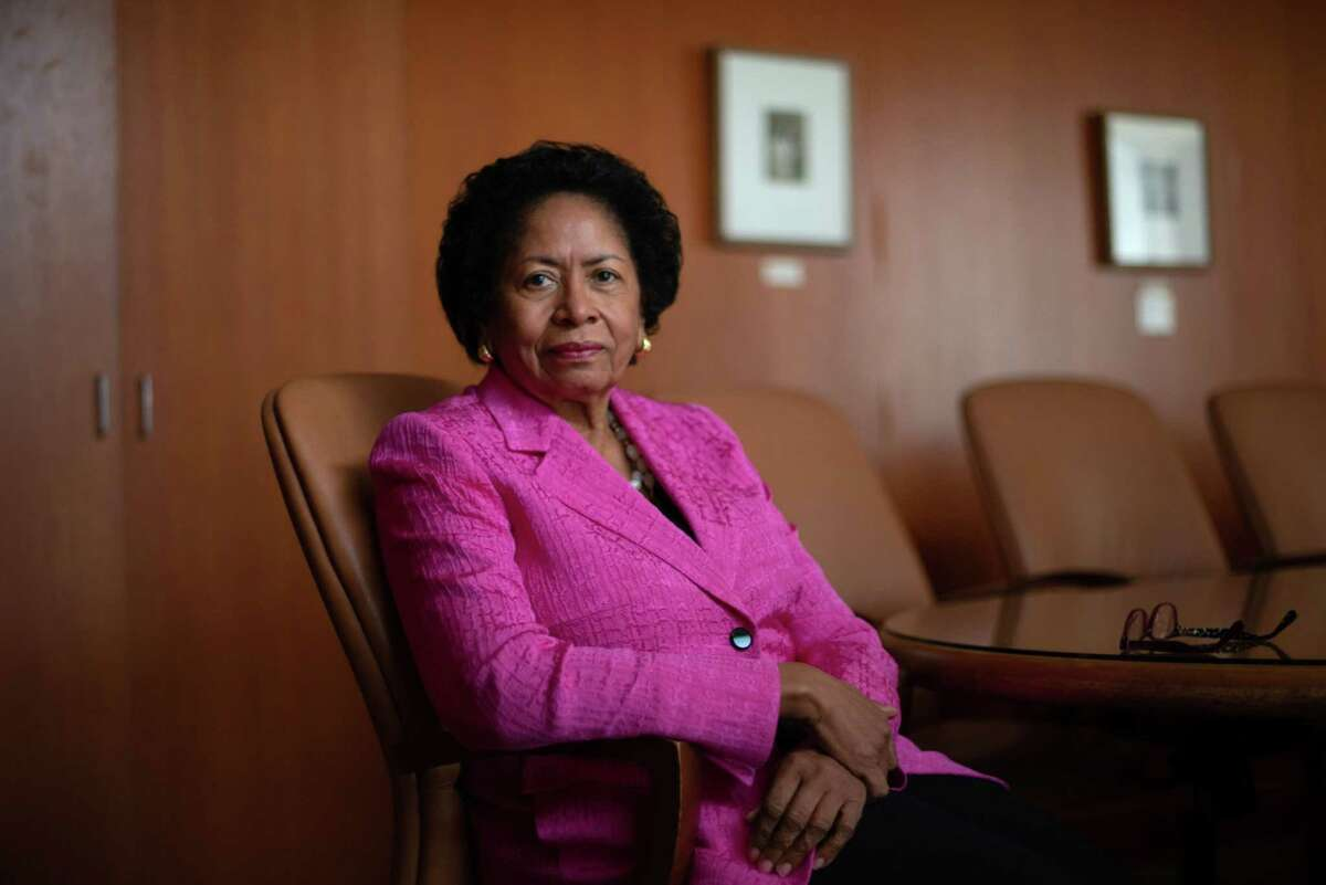 Ruth Simmons, president of Prairie View A&M University, in Prairie View, Texas, on March 10, 2021.