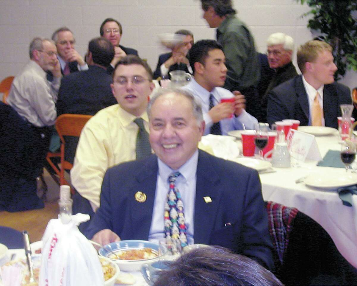 In this file photo, then state Rep. Billy Ciotto, (D-9) and other state representatives and business leaders at the Italian American Legislative Caucus Fundraising Dinner at the Sons of Italy in Middletown in 2003.