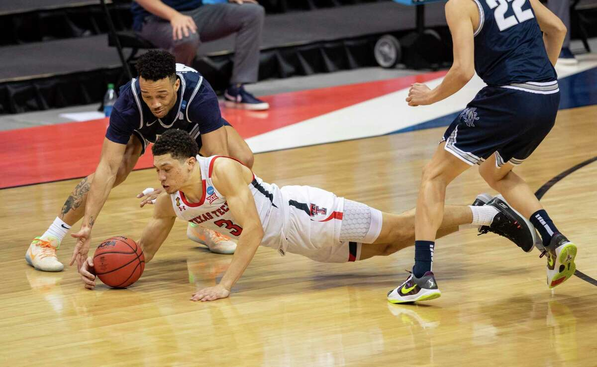 Texas Tech and guard Clarence Nadolny made the plays on defense against Utah State and will be tested by Arkansas in second round of NCAA Tournament.