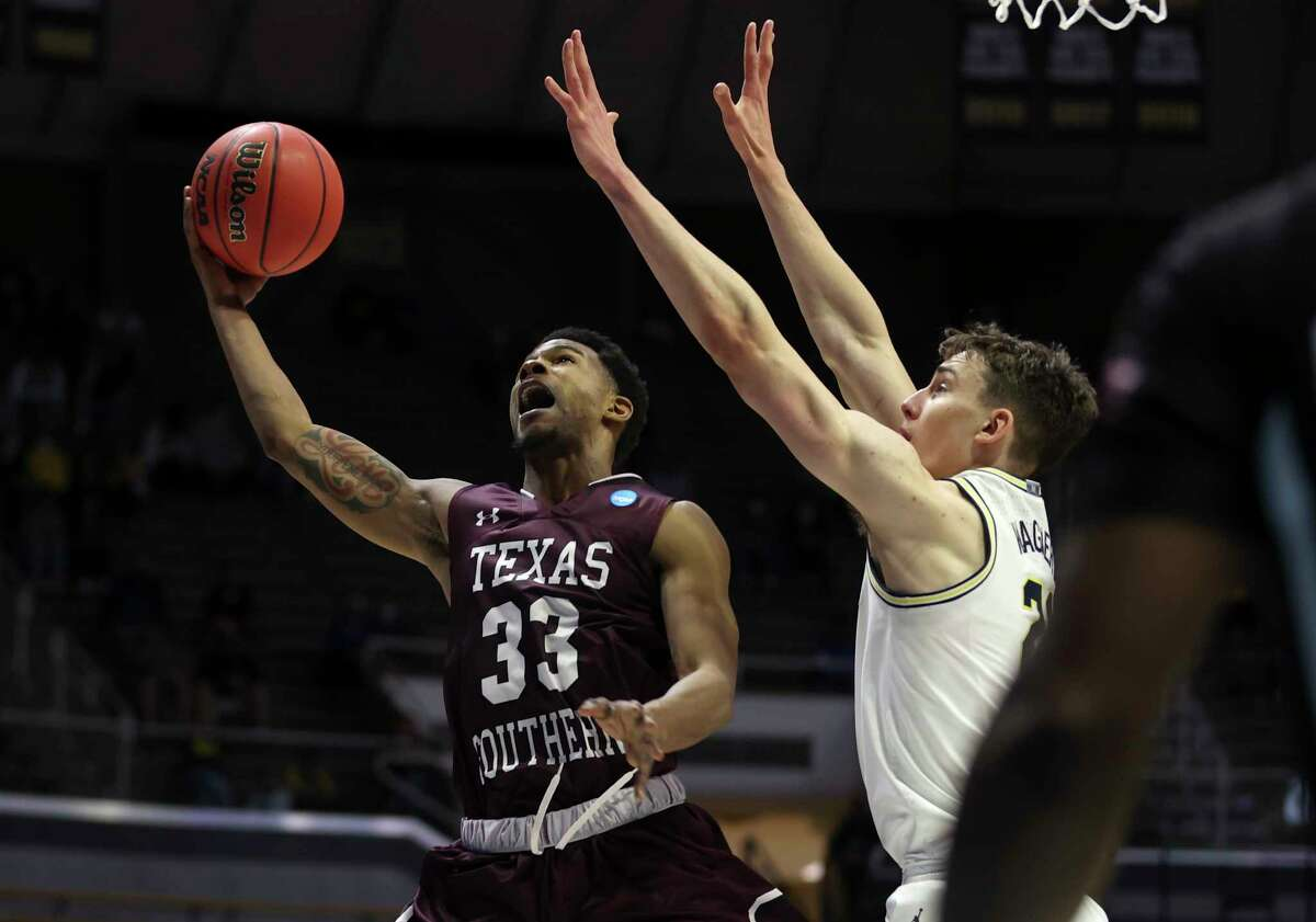 Quinton Brigham and TSU faced an uphill challenge from the start of Saturday's loss to No. 1 seed Michigan