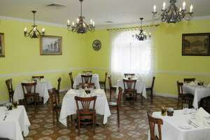 One of the dining rooms at Castello Restaurant, in Danbury, on Thursday, August 26, 2010.