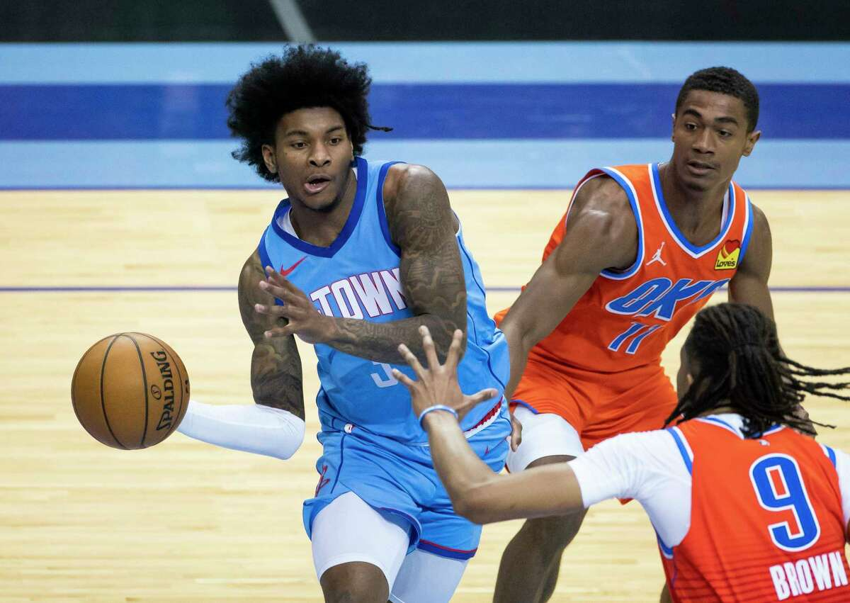 Kevin Porter Jr. will take on a more prominent role for the Rockets with Victor Oladipo's departure to Miami.