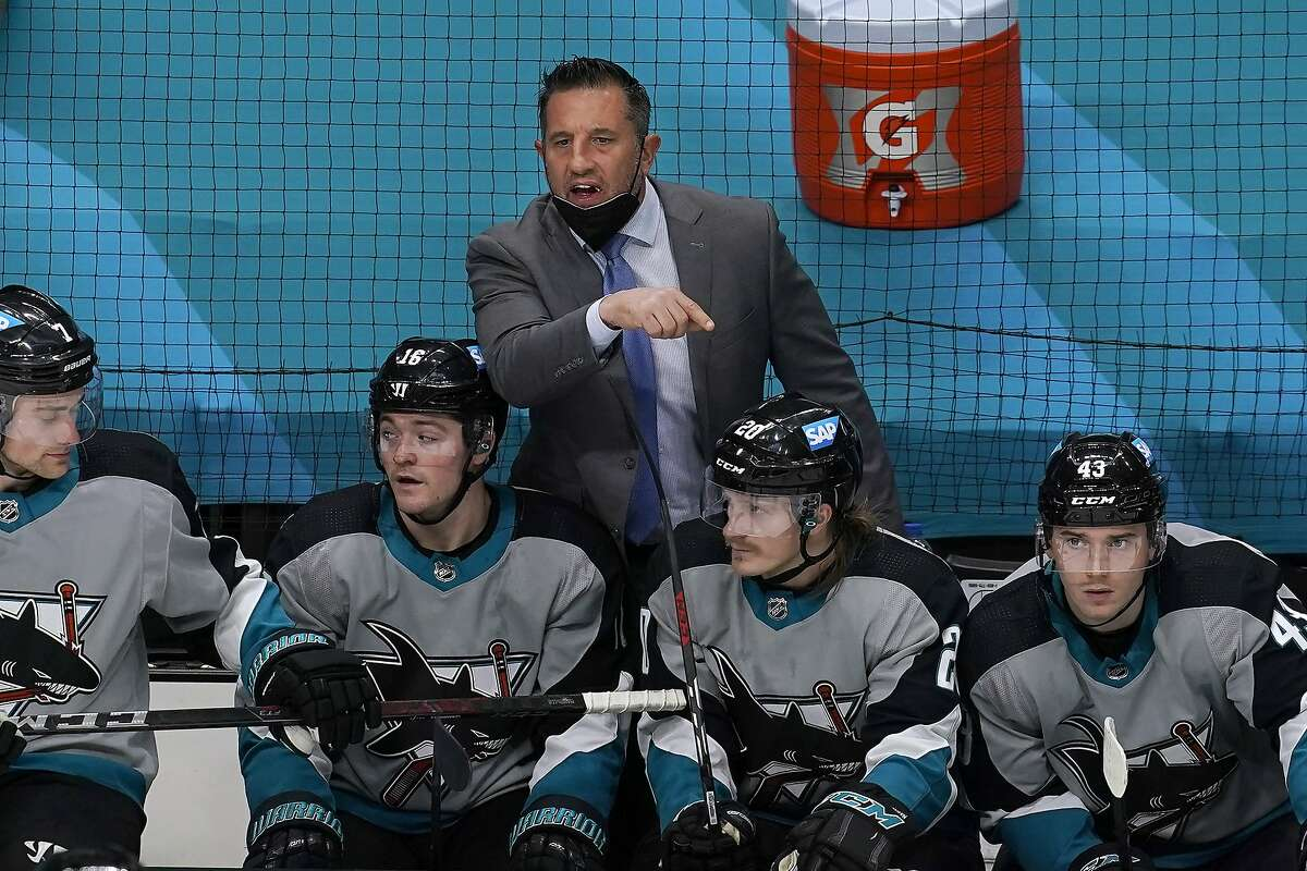 Head coach Bob Boughner and the Sharks host the Kings at 7:30 p.m. Monday (NBCSCA).