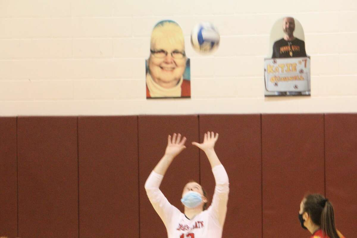 Ferris rallied to win the first two sets and went on to a 3-0 volleyball sweep over Northwood on Saturday