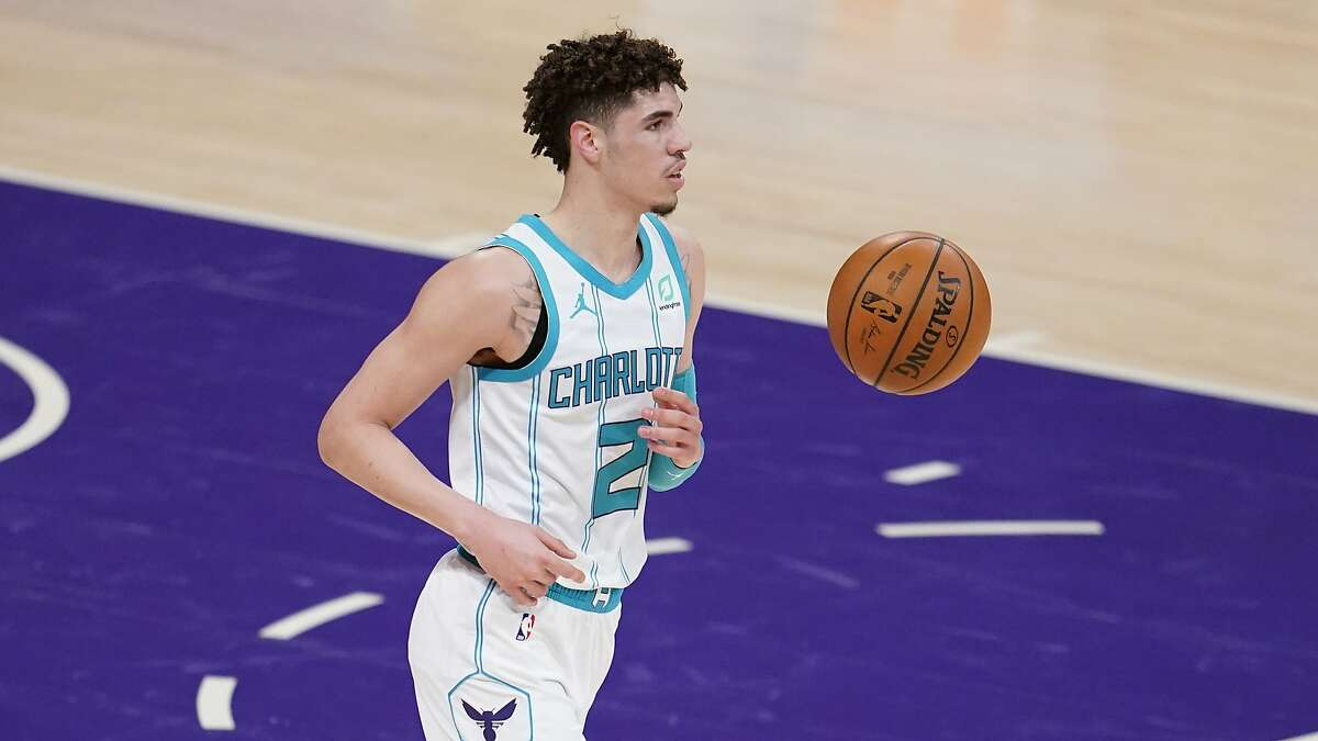 Charlotte Hornets guard LaMelo Ball is expected to miss the remainder of the NBA season due to a broken right wrist suffered in Saturday's loss to the Clippers.