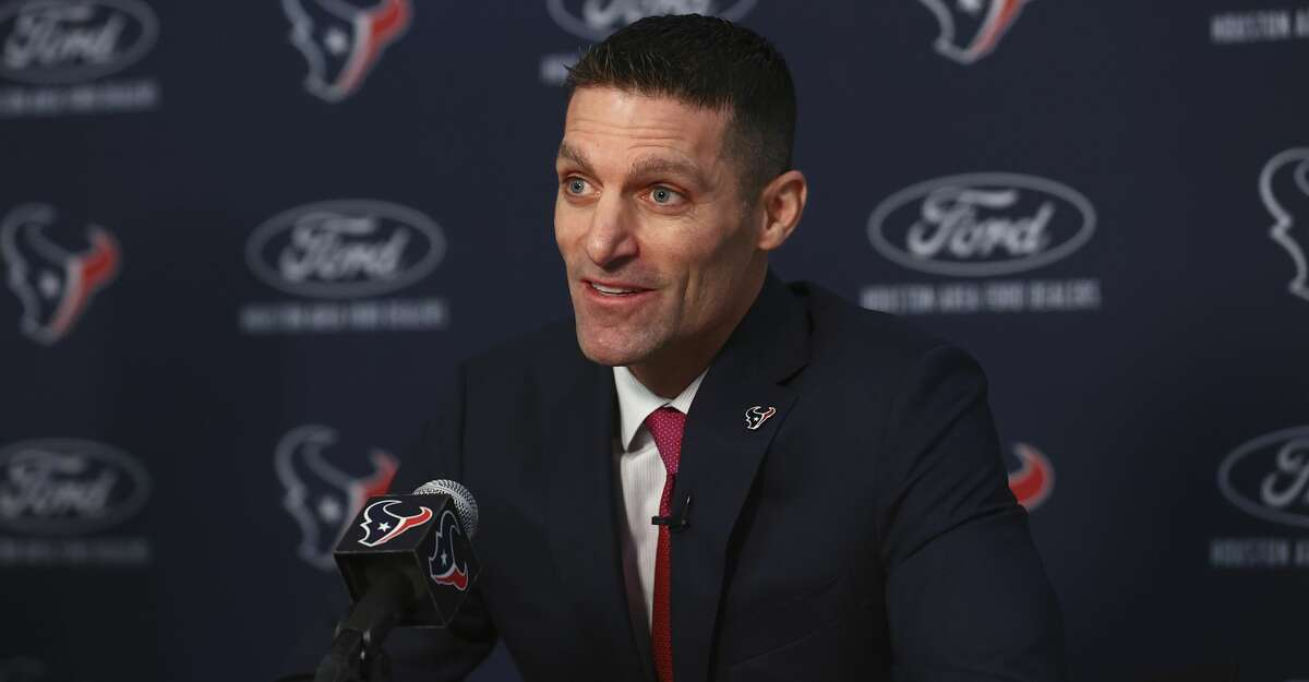 Nick Caserio, the Texans general manager.