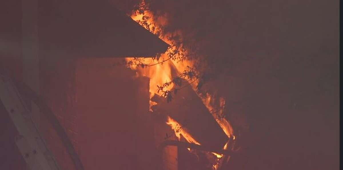 Dozens of people were displaced by an apartment fire in Cy-Fair early Monday morning.